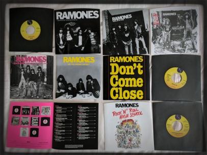 RAMONES 76-'79 Singles Box