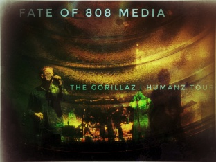 The Gorillaz | Humanz Tour 2017 | | Fate Of 8 O 8 mediA ©
