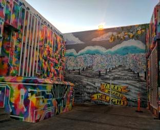 Mural by: Aaron De La Cruz www.aarondelacruz.com