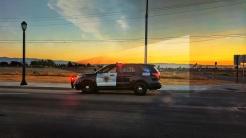 Sunset on patrol