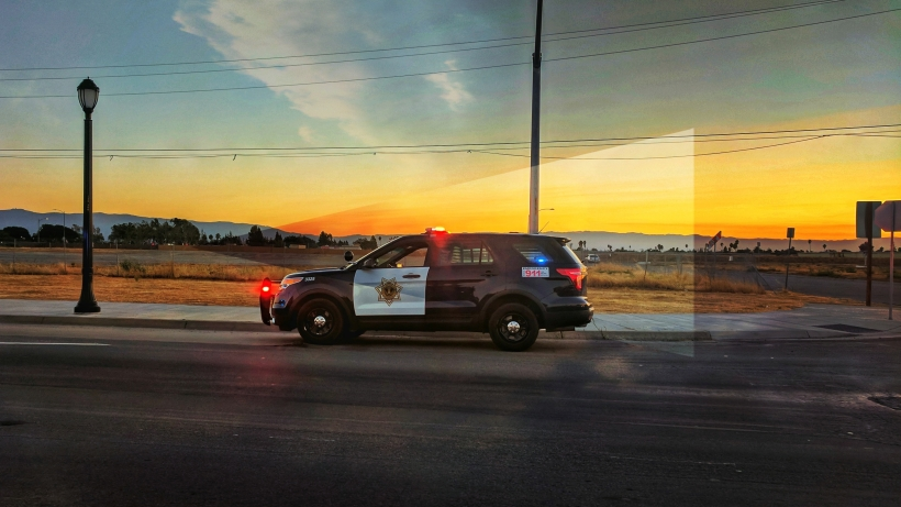 Sunset on patrol
