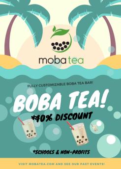 moba tea flyer