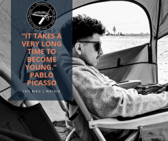 """""""It takes a very long time to become young."""" Pablo Picasso (2)"""